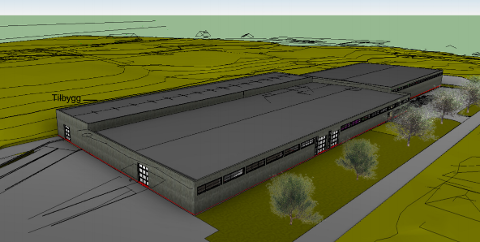 Stort bygg: Foodman-lokalene utvides med 1.800 kvadratmeter.