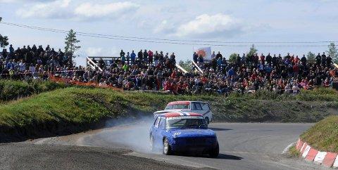 AVLYST: NMK Kongsberg har sett seg nødt til å avlyse sitt vårløp i bilcross, som skulle vært avviklet siste helga i april. FOTO: OLE JOHN HOSTVEDT