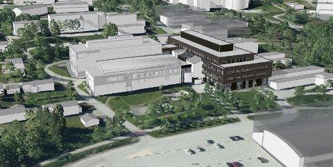 STORSKOLE: Nye Ishavsbyen videregående skole skal omfatte deler av dagens skole i Breivika, samt nybygg.