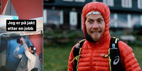 JOBB: Denne alternative jobbsøknaden funket fint for Hans Kristian Smedsrød (32).