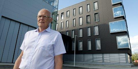BEKYMRET: Ordfører Bjørn Iddberg påpeker at Gjøvik som bykommune har særskilte utfordringer og trenger et  godt synlig politi, især i helgene. Arkivbilde