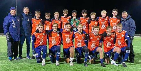KM-TITTEL: Vind G16 sikret seg kretsmesterskapet for Indre Østland etter at laget vant 5-1 borte over Lillehammer torsdag.