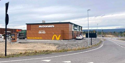 ØNSKER DØGNÅPENT: McDonald's på Grindalsmoen ønsker å holde åpent også mellom tre og seks om natta.