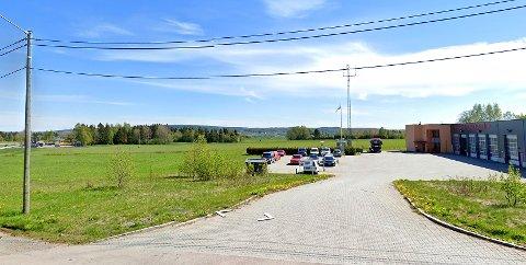 KJENT NABO: Sivilforsvaret ønsker seg inn i et nybygg ved siden av Skedsmo Brannstasjon.