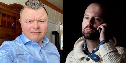 SLÅR SEG SAMMEN: Stian Thorvaldsen (f.v.) og Thomas Mathiesen satser på noe helt nytt, og mener markedet er stort.
