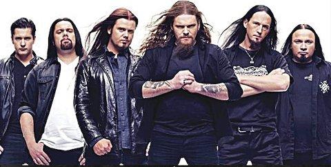 SUSPERIA: Metalbandet Susperia åpner sesongen på Tribute sin rockescene i år.