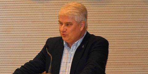 LÅN: Varaordfører Ingolf Paller (Frp) fikk fullmakt fra ordfører Thor Hals (H) til å ta opp et lån på 250 millioner kroner.