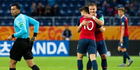 Norge knuste Honduras 12-0.