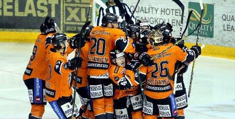 VANT: Frisk Asker hadde mye å juble for sist sesong og startet med seier mot Stavanger i år.