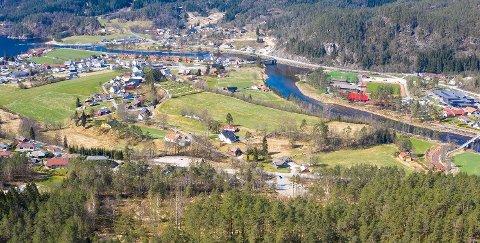 Sirdal kommune vil kjøpe boligfeltet på Knausane lite utenfor sentrum på Tonstad.