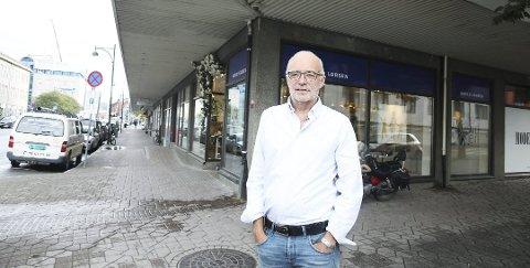 Arvid Larsen la i Desember 2018 ned fotostudioet i Sjøgata.
