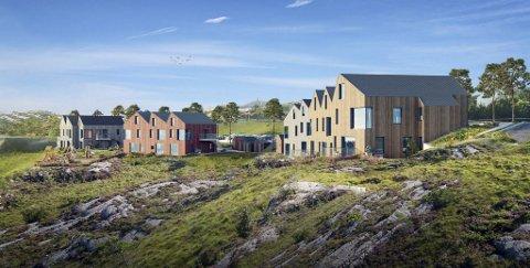 Solceller, automatisk strømkjøp og boring av bergvann er stikkordene for det Enova-støttede boligprosjektet i Oensundet på Øygarden.  Det er En til En Arkitekter som har tegnet boligne.