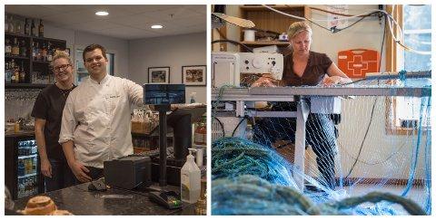 STØTTE FRÅ NÆRINGSFONDET: Fabel Kafe og Motell i Fjaler og Vætlandet Fiskeredskap er to av bedriftene som har fått støtte frå det kommunale næringsfondet.