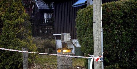 DREPT: Den 72 år gamle kvinnen ble skutt og drept i ekteparets bolig på Bjørnstad. Hun og siktede skal ha bodd i det samme huset i 40 år. FOTO: Geir Bjørnstad