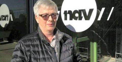 Gode nyheter: Navs kommunikasjonssjef Britt Tunby kan melde om nedgang i ledigheten.
