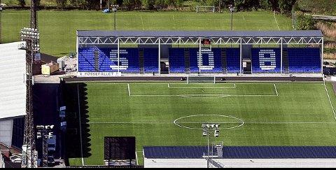 Lite idyll: Det er lite idyll i kulissene på Sarpsborg stadion to                                                                                                                                                                                                                                                                                                             uker før årsmøtet i Sarpsborg 08 skal avholdes samme sted.