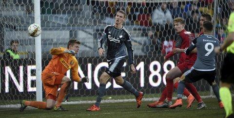 DEBUTEN: 20. mars 2016 debuterte Julian Kristoffersen for FC København mot FC Nordsjælland.