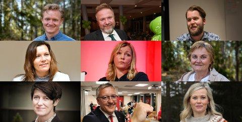 Anders Brabrand (Ap), Bengt Fasteraune (Sp), Torleik Svelle (Sp), Mariann Skotte (Sp), Kjersti Stenseng (Ap), Rigmor Aasrud (Ap), Aud Hove (Sp), Rune Støstad (Ap) og Kjersti Bjørnstad (Sp) er navn som nevnes .