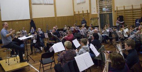 JUBILEUMSKONSERT: Haugesund Janitsjarorkester feirer 100 år med konsert i Scandic Maritim Hall.