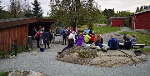 Gapahuken:  En kort tur fra parkeringsplassen vd Stemmen i Haugesund. Foto: Haugesund turistforning