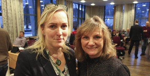 Carola Karl Urvik og Franziska Wika i Vefsn Venstre er ikke enig i at Venstre har gått inn for storflyplass.