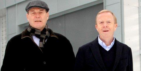 KOMMER: Vidar Ullenrød er ordstyrer mens ordfører Alf Johan Svele (til v.) er deltager mandag. FOTO: LARS IVAR HORDNES