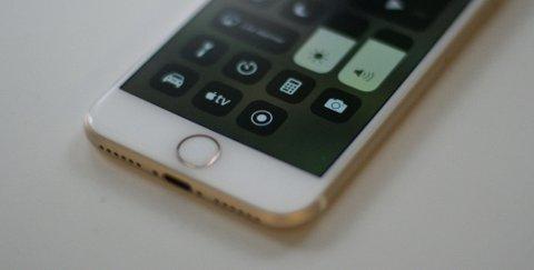 NY KNAPP: Det er knappen nederst til høyre på skjermen (sirkel rundt prikk) som aktiverer skjermopptak.