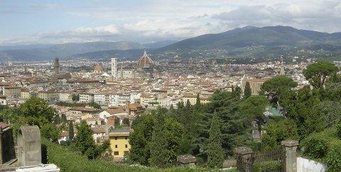 Spørsmål 10: Hvilken av verdens fremste kulturbyer renner elva Arno gjennom?