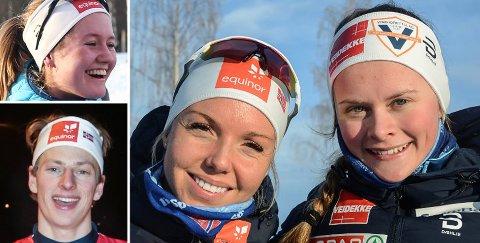 Tuva Bakkemo, Ansgar Evensen, Marte Mæhlum Johansen og Mathilde Myhrvold.