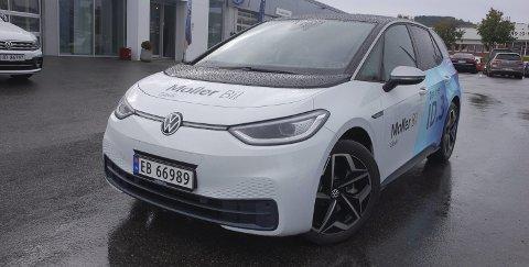 ÅRETS KOMET: Den elektriske kompaktkombien Volkswagen ID3 er klart mest solgt, det vil si registrert, både i Vestoppland og hele landet etter at leveringene startet i høst.ALLE FOTO: ØYVIN SØRAA