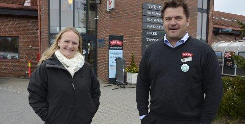 Spent: Anita Baan Hovd er spent på om Dag Arilld Bakken blir kåret til «årets nabo» når folkeprisene skal deles ut i begynnelsen av juni.