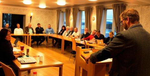 POLITIKERE: Medlemsmøtet i Bamble Ap vil ha bobilplasser.