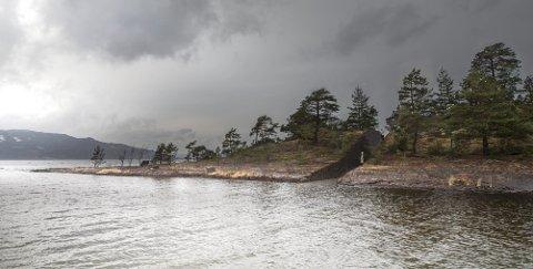 Slik skal minnesmerket på Sørbråten se ut. Illustrasjon: Jonas Dahlberg
