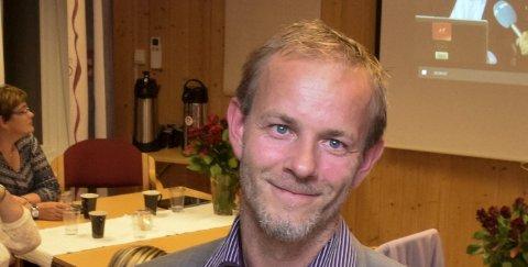 Mons-Ivar Mjelde er gjenvalgt som leder av Ringerike Arbeiderparti for to år.