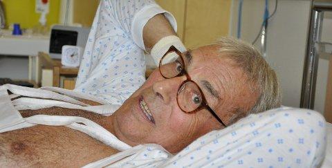 Ikke uten håp: Nils-Erik Andersen er optimistisk til tross for diagnosen om lungekreft.