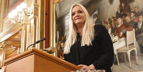 VIL BIDRA: - Jeg skal mer enn gjerne forsøke å bidra til at Grønkjærs visjon om å bli et nasjonalt senter skal bli kjent for stortingsbenken for Vestfold og Telemark, lover Åslaug Sem-Jacobsen.