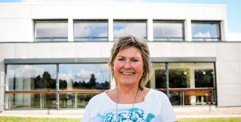 STOLT: Rektor Anita Eikeland Larsen er stolt over at Nøtterøy videregående skole kan vinne Benjaminprisen 2018.