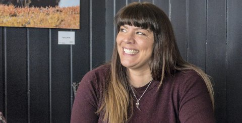 Nytt ansikt: Siri Sande debuterer i politikken som Sunndal Venstres førstekandidat til høstens kommunevalg.