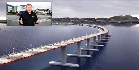 Ap-politiker Per Jarle Valvatne på Stord forteller om konsekvensene av et nei til Hordfast.