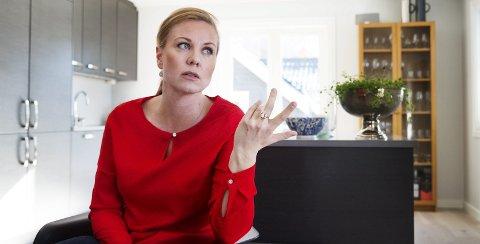 NY HELOMVENDING: Silje Kjellesvik Norheim, Arbeiderpartiets gruppeleder, forteller at de har bestemt seg for å gå mot planene om gjenvinningsanlegg på Lyngås. (Arkivfoto)