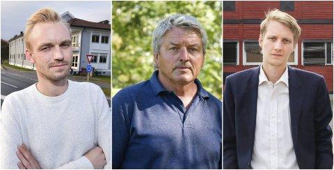 NÆRMER SEG: Mandag kveld får vi trolig vite om Adrian Tollefsen (H), Knut Kvale (Sp) eller Niclas Tokerud blir ordfører. I følge Eikerbladets meningsmåling er det Kvale som er det gjeveste kandidaten.