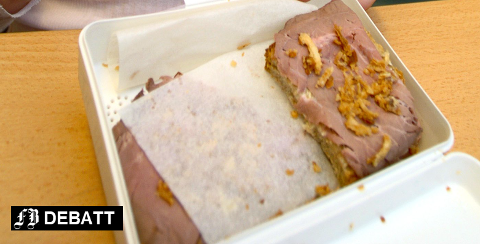 – Matpakken er som oftest et mye sunnere valg enn å dra på butikken eller kjøpe mat i kantina.