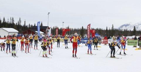 FØRSTE ETAPPE: I vinter ble NNM på ski arrangert Sjåmoen i nye løyper. Den første utbygginga av skianlegget skjedde i fjor, og nå skal Vefsn kommune fortsette med å bygge rulleskiløype. Foto: Per Vikan