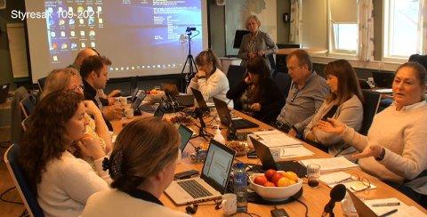 SAMLET SAMMEN: Helse Nord-styret var samlet fysisk i Bodø for å gjennomføre onsdagens styremøte.