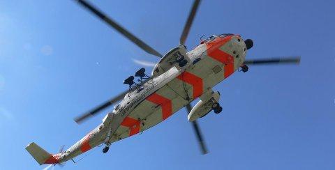 Sea King brukes ofte i redningsaksjoner i regi av Hovedredningssentralen.
