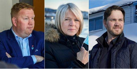 VISER FORSTÅELSE: Amund Hellesø (fra venstre), Arnhild Holstad og Hans Oskar Devik.
