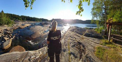 BADEVETT: Politiet i Namdalen oppfordrer badere å ta vare på hverandre.