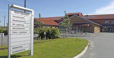 Strenge: Moer Sykehjem har strenge regler for besøk ved sykehjemmet.