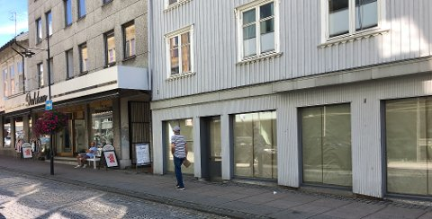 NY BUTIKK: I lokalene til nå avviklede Guvaag Møbler i Storgata skal den nye klesbutikken Next Label Sandefjord åpne på nyåret - omtrent akkurat når Motehuset Dokken stenger for godt.