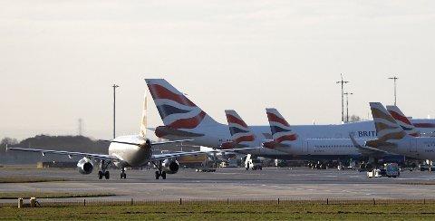 På Heathrow utenfor London bør du beregne minst 60 minutter dersom du skal videre med et annet fly.